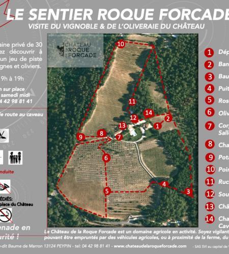 Sentier Roque Forcade