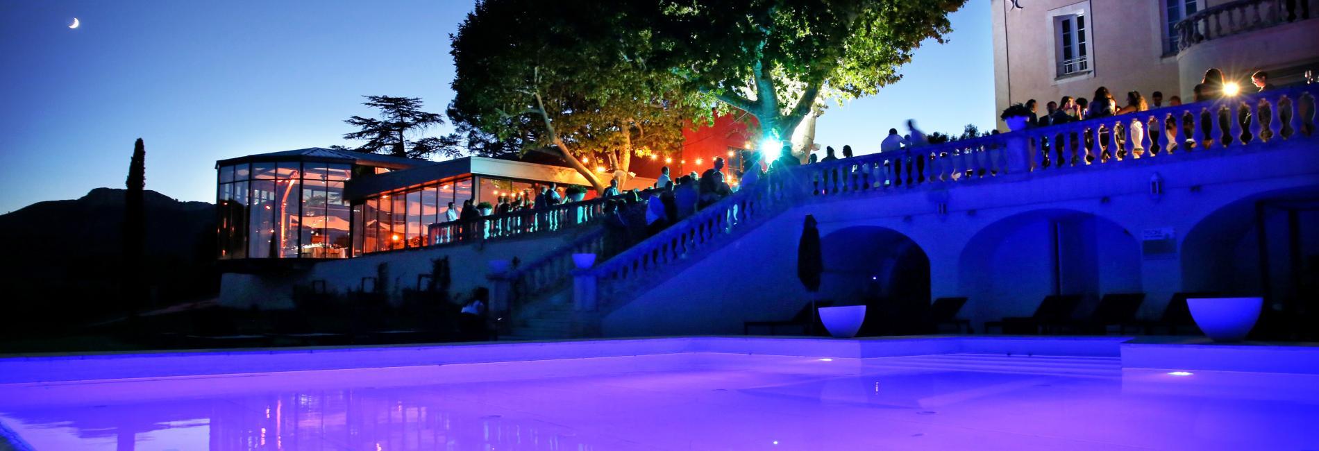 Soirée blanche - club privé St Roque