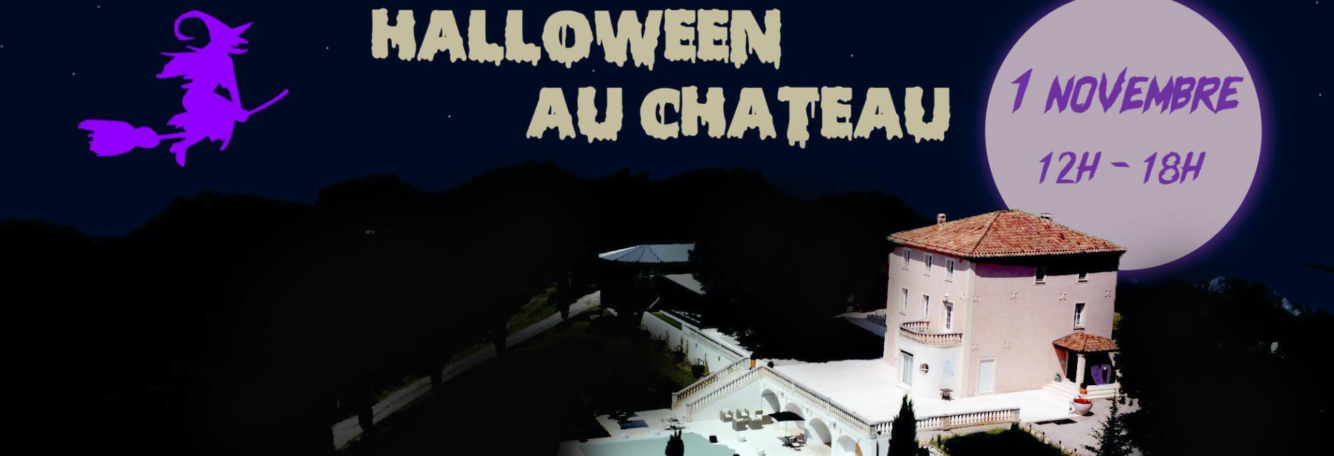 Venez feter HALLOWEEN de 12H à 18H le 31 octobre